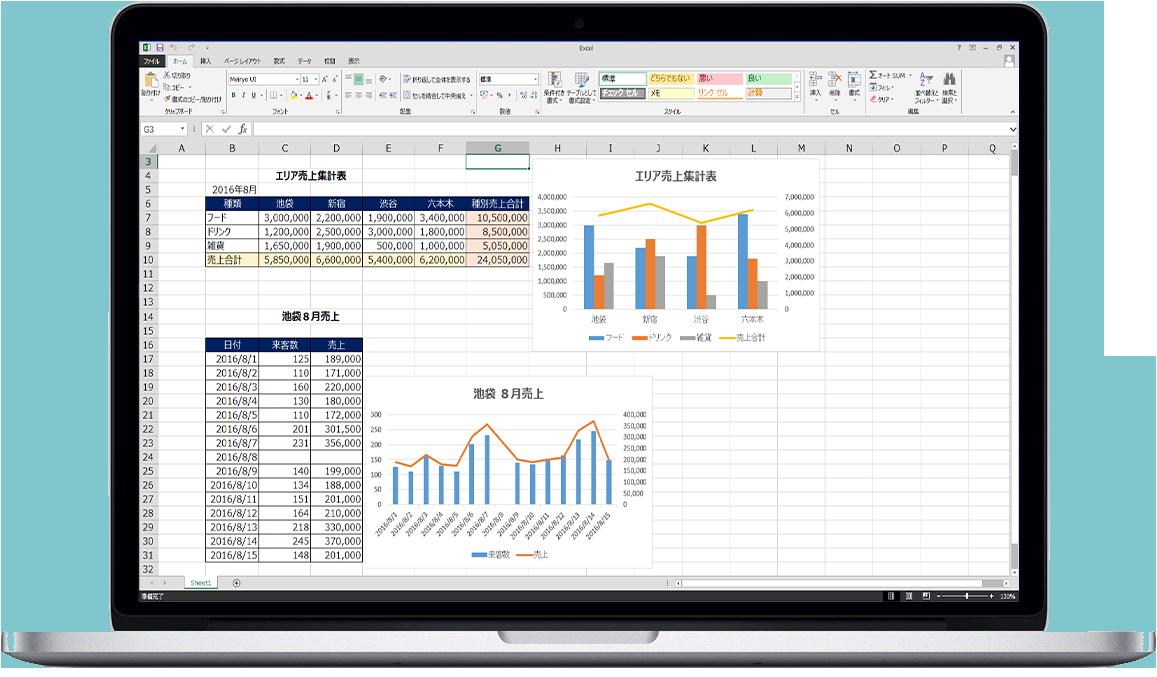 Excel中級 コース概要